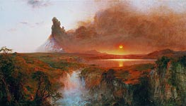 Cotopaxi, 1862 by Frederic Edwin Church | Painting Reproduction