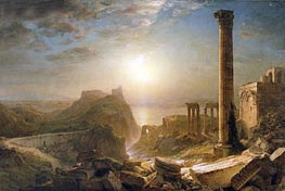 Syria by the Sea, 1873  by Frederic Edwin Church | Painting Reproduction