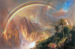 Rainy Season in the Tropics, 1866 by Frederic Edwin Church | Painting Reproduction