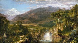 Heart of the Andes, 1859 von Frederic Edwin Church | Gemälde-Reproduktion