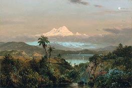 Cayambe, 1858 by Frederic Edwin Church | Painting Reproduction