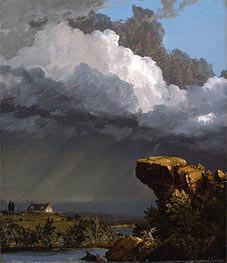 A Passing Storm | Frederic Edwin Church | Painting Reproduction