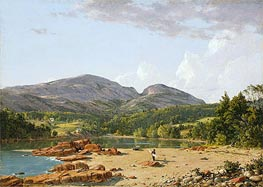 Otter Creek, Mt. Desert | Frederic Edwin Church | Painting Reproduction