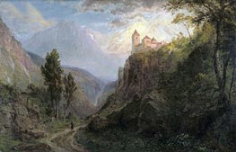 The Monastery of San Pedro (Our Lady of the Snows) | Frederic Edwin Church | Painting Reproduction