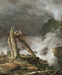 Storm in the Mountains | Frederic Edwin Church | Gemälde Reproduktion