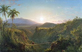 Pichincha | Frederic Edwin Church | Gemälde Reproduktion