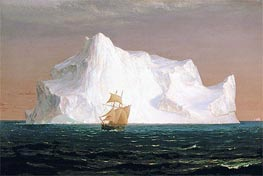 The Iceberg | Frederic Edwin Church | Gemälde Reproduktion