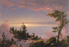 Above the Clouds at Sunrise | Frederic Edwin Church | Painting Reproduction