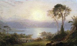 Tropical Landscape | Frederic Edwin Church | Painting Reproduction