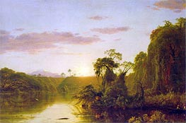 Scene on the Magdalena | Frederic Edwin Church | Painting Reproduction