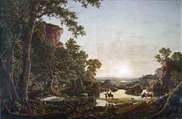 Hooker's Party Coming to Hartford | Frederic Edwin Church | Painting Reproduction