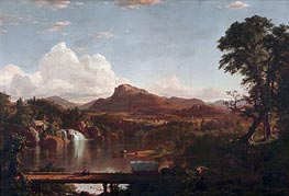 Scene in the Catskills, 1851 by Frederic Edwin Church | Painting Reproduction