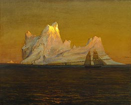 The Iceberg, c.1875 by Frederic Edwin Church | Painting Reproduction