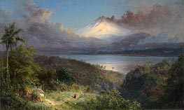 View of Cotopaxi, 1867 by Frederic Edwin Church | Painting Reproduction