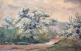 Apple Blossoms at Olana | Frederic Edwin Church | Painting Reproduction