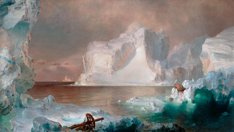 The Icebergs, 1861 | Frederic Edwin Church | Painting Reproduction
