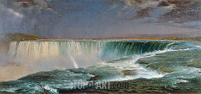 Niagara, 1857 | Frederic Edwin Church | Painting Reproduction