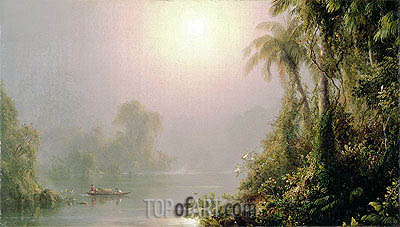 Morning in the Tropics, c.1858 | Frederic Edwin Church | Painting Reproduction