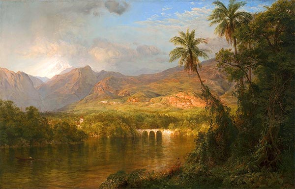 South American Landscape, 1873 | Frederic Edwin Church | Painting Reproduction