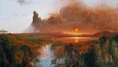 Cotopaxi, 1862 | Frederic Edwin Church | Painting Reproduction