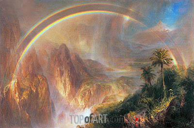 Rainy Season in the Tropics, 1866 | Frederic Edwin Church | Painting Reproduction