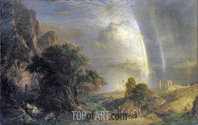 The Aegean Sea, c.1877 | Frederic Edwin Church | Painting Reproduction