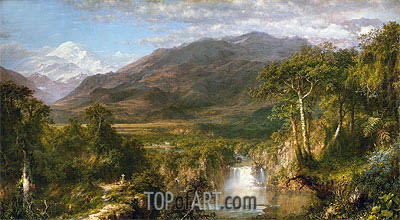Heart of the Andes, 1859 | Frederic Edwin Church | Painting Reproduction