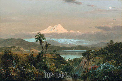 Cayambe, 1858 | Frederic Edwin Church | Painting Reproduction