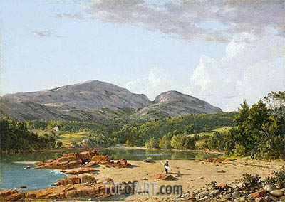 Otter Creek, Mt. Desert, 1850 | Frederic Edwin Church | Painting Reproduction