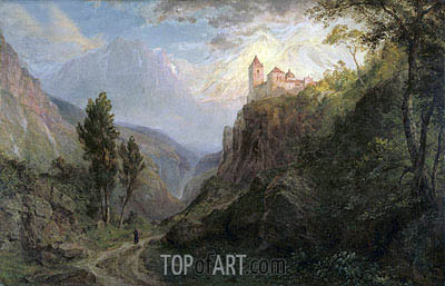 The Monastery of San Pedro (Our Lady of the Snows), 1879 | Frederic Edwin Church | Gemälde Reproduktion