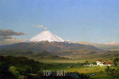 Cotopaxi, 1855 | Frederic Edwin Church | Painting Reproduction