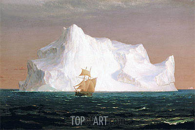 The Iceberg, 1891 | Frederic Edwin Church | Painting Reproduction