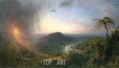 Vale of St. Thomas, Jamaica, 1867 | Frederic Edwin Church | Painting Reproduction