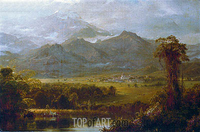 The Mountains of Ecuador, 1855   Frederic Edwin Church   Painting Reproduction