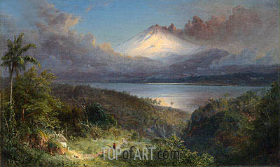 View of Cotopaxi, 1867   Frederic Edwin Church   Painting Reproduction