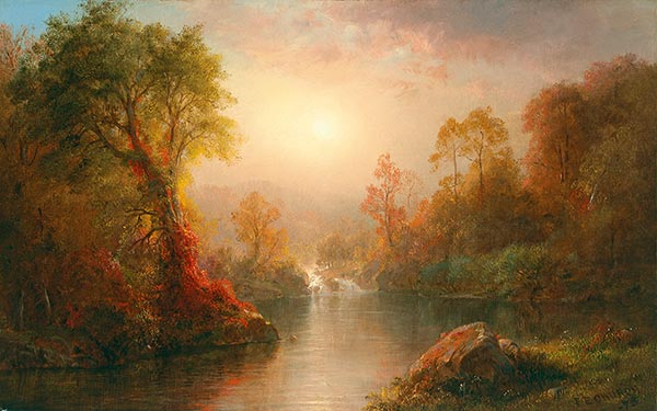 Autumn, 1875 | Frederic Edwin Church | Painting Reproduction