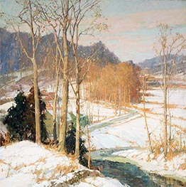 The Valley Road, c.1925 by Frederick J. Mulhaupt | Painting Reproduction