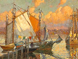 Glow after Rain, 1905 by Frederick J. Mulhaupt | Painting Reproduction
