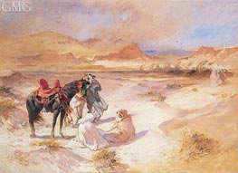 Cirocco, 1925 by Frederick Arthur Bridgman | Painting Reproduction