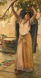 Spanish Lady | Frederick Arthur Bridgman | Painting Reproduction