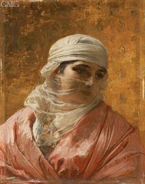 A Circassian | Frederick Arthur Bridgman | Painting Reproduction