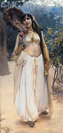Summer Evening | Frederick Arthur Bridgman | Painting Reproduction