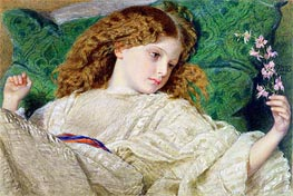 Dreams, c.1861 by Frederick Burton | Painting Reproduction