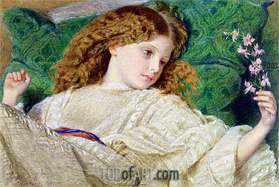 Dreams, c.1861 | Frederick Burton | Painting Reproduction