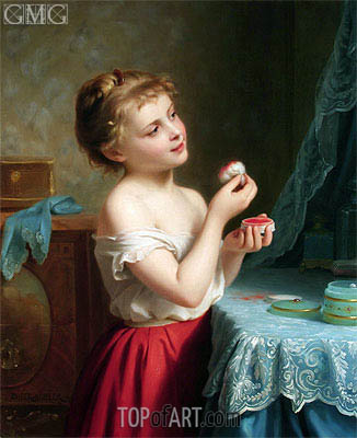A Little Rouge, undated   Zuber-Buhler   Painting Reproduction
