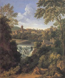 The Falls of Tivoli, c.1661 by Gaspard Poussin Dughet | Painting Reproduction