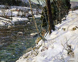 Sunny Slopes, Undated by George Gardner Symons | Painting Reproduction