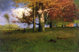 Early Autumn, Montclair, 1891 von George Inness | Gemälde-Reproduktion