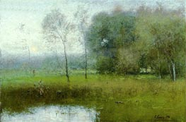 Summer, Montclair (New Jersey Landscape) | George Inness | Painting Reproduction
