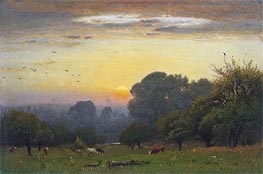 Morning | George Inness | Painting Reproduction